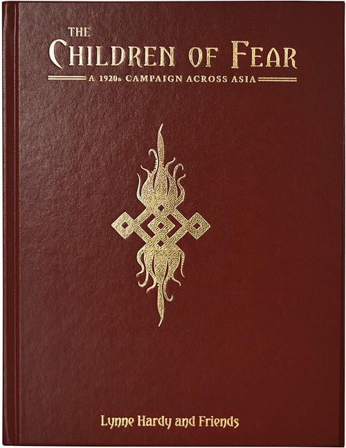 The Children of Fear Leatherette - Front Cover