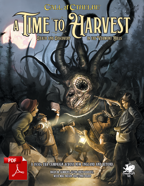 A Time to Harvest - Front Cover