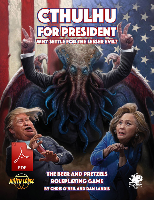 Cthulhu for President - Cover