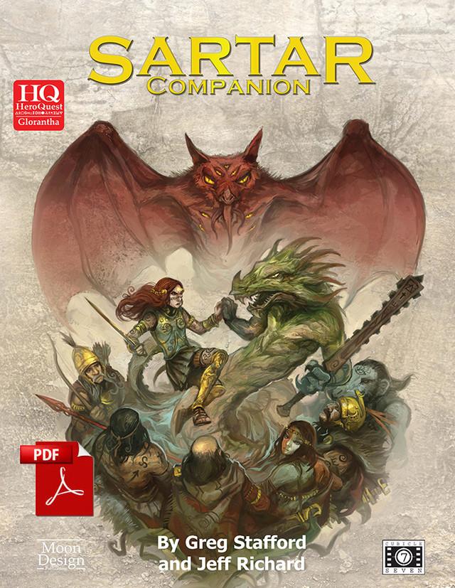The Sartar Companion - Cover