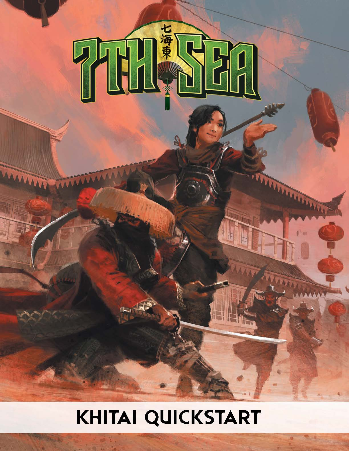 7th Sea Quickstart front cover