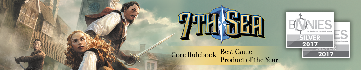 7th Sea Core Rulebook Reviews