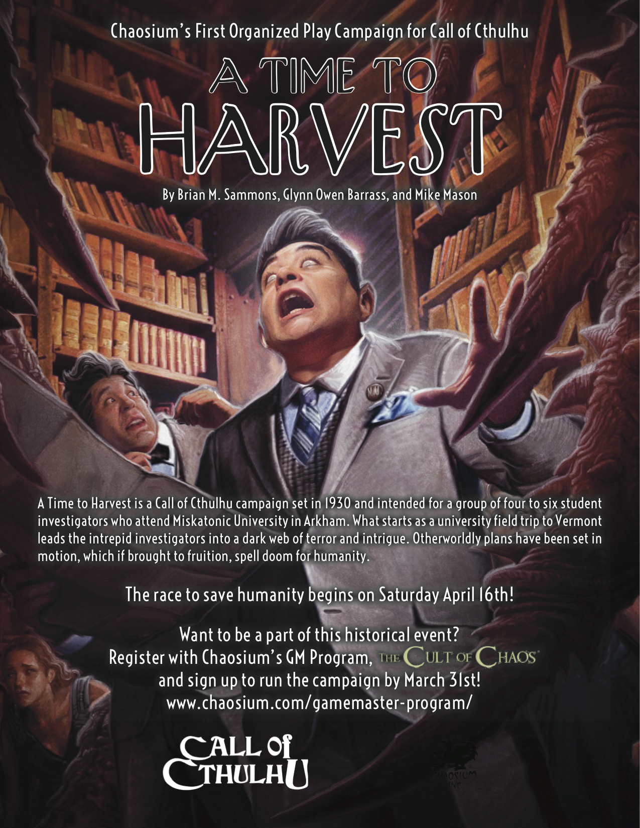 A Time to Harvest cover