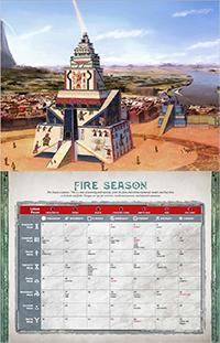 Fire Season Calendar