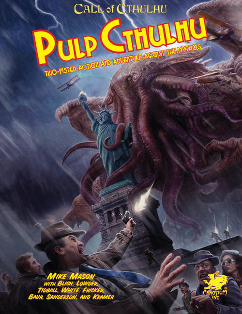 Pulp Cthulhu front cover