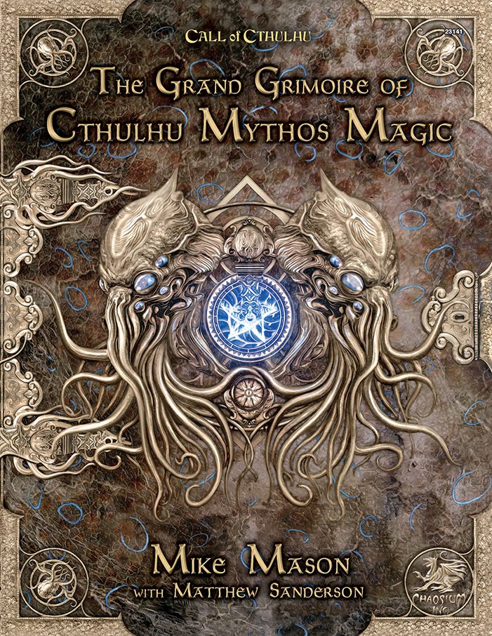 The Grand Grimoire of Cthulhu Mythos Magic - Front Cover