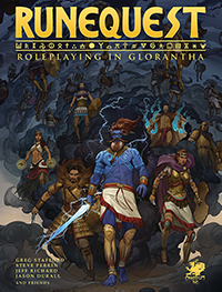 Cover of RuneQuest: Roleplaying in Glorantha