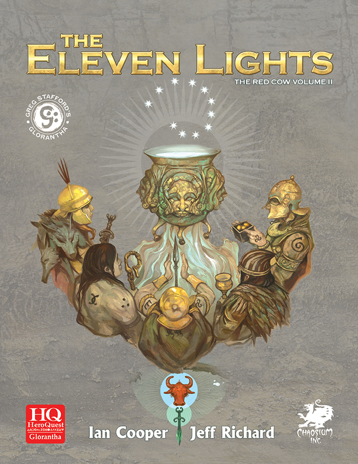 The Eleven Lights - Front Cover