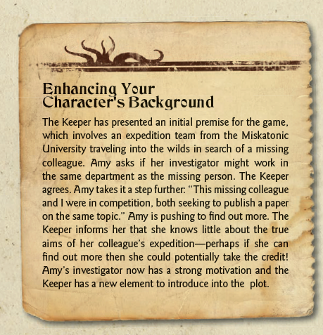 Enhanced Character Background Example