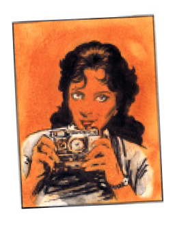An Investigator with a camera