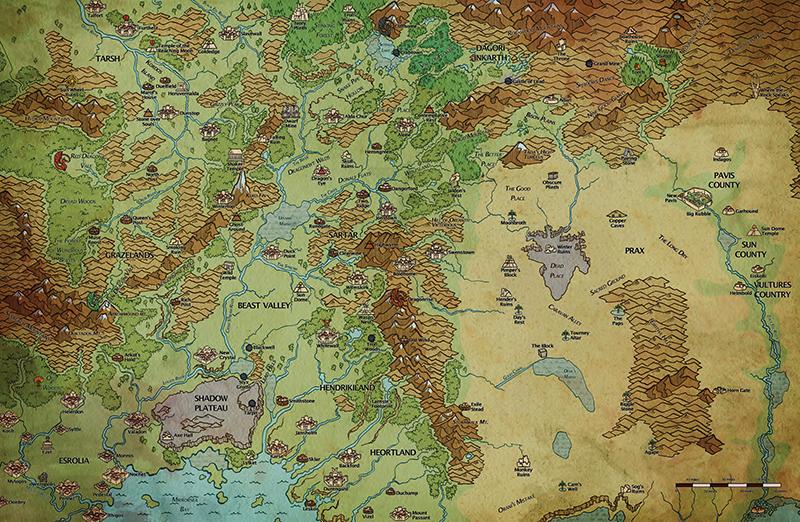 Map of Dragon Pass