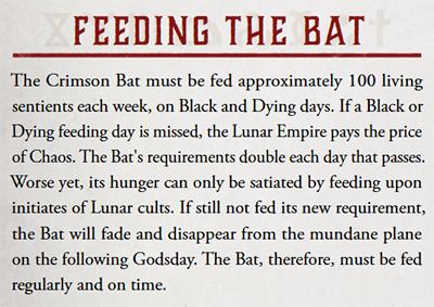 Feeding the Bat