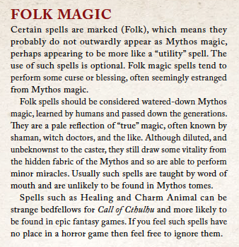 Folk Magic