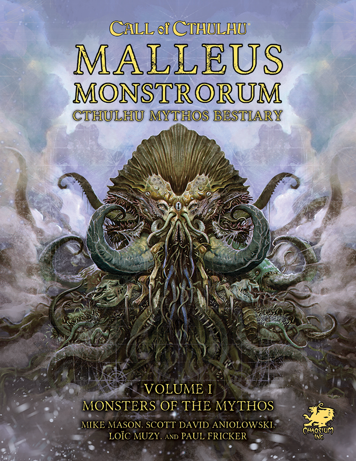 Malleus Monstrorum - Vol 1 - Front Cover
