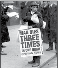 Man dies Three times in one night