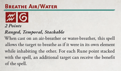 Spell - Breath Air/Water