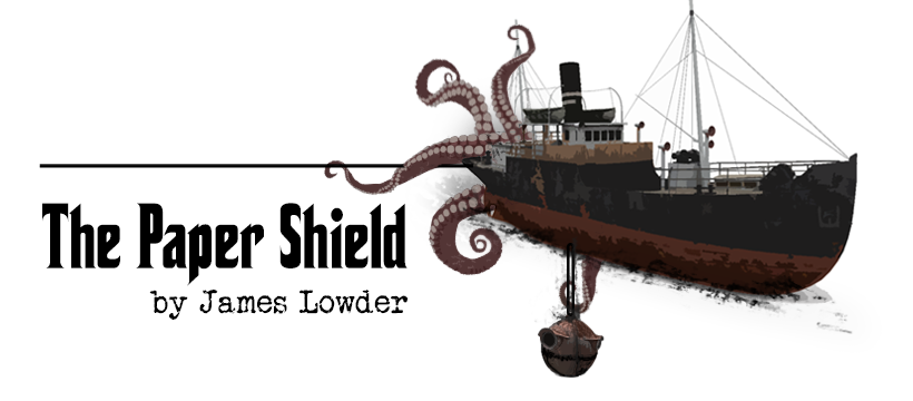 The Paper Shield by James Lowder