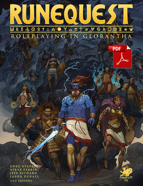 RuneQuest - Roleplaying in Glorantha - PDF