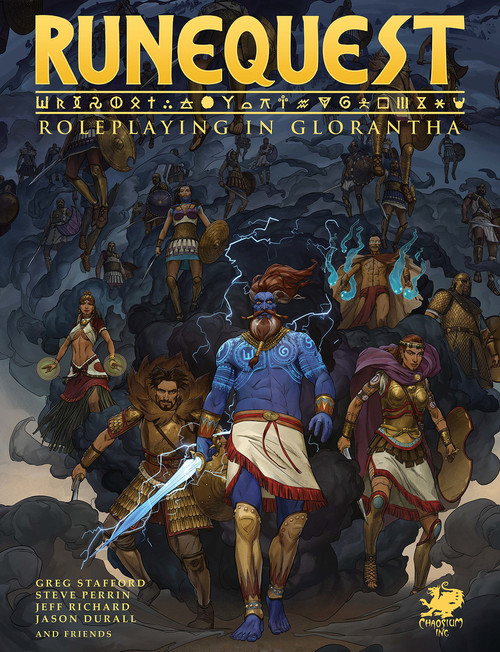 RuneQuest - Roleplaying in Glorantha - Hardcover
