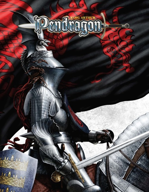 King Arthur Pendragon Core Rule Book - 5.2 Edition - Hardcover