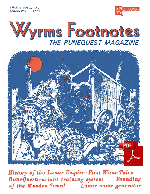 Wyrms Footnotes #11 - PDF