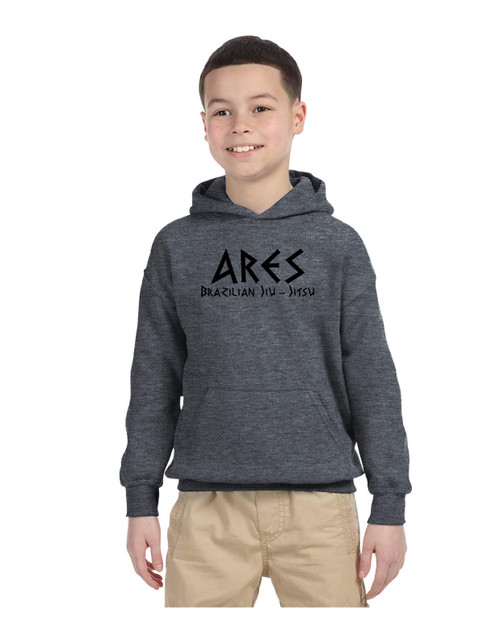 Ares Youth Grey Hoodie