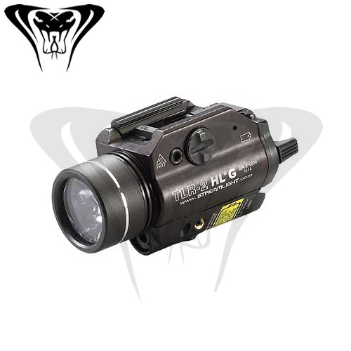 Streamlight TLR-2 HLG Rail Mounted Flashlight and Green Laser