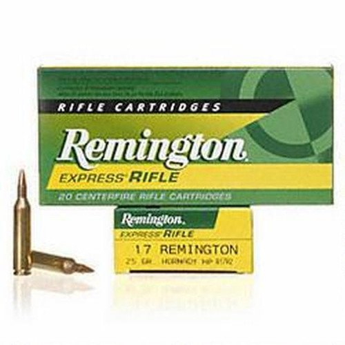 Remington 17Rem 25Gr HP