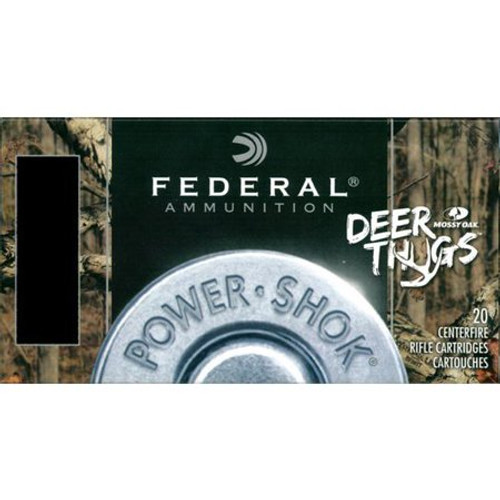 Federal  PWRSHK Deer Thugs 3006 150GR SP 20/200 Last One