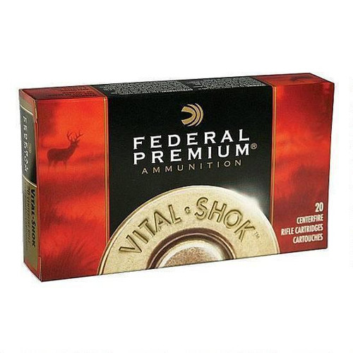 Federal Vital-Shok 280 Rem 150 Grain NP 20 Round Box New Packaging