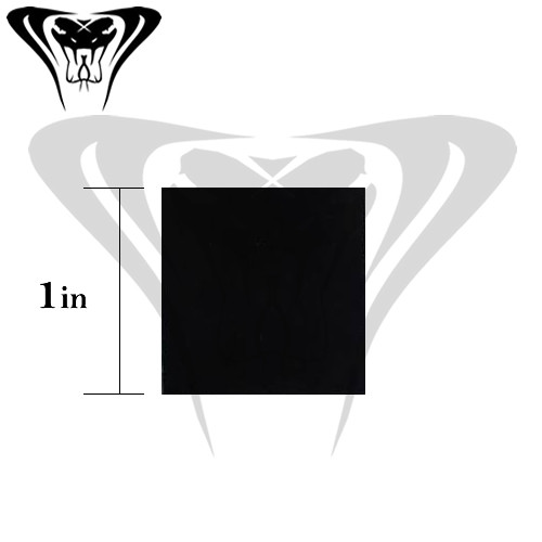 IR Tools 1 inch square IFF Night Vision IR Reflective Square