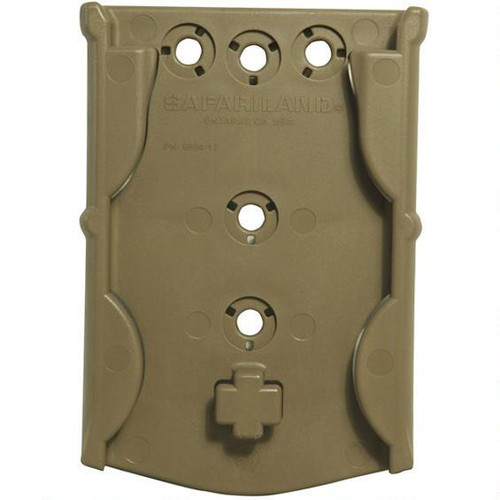 Safariland Model 6004-17 MOLLE Locking System Receiver Plate 6004-17-55