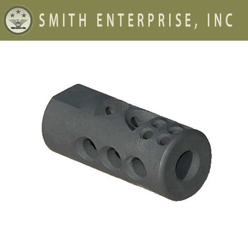 "Smith Enterprise Good Iron Brake 9/16""-24 Thread AR-15 Matte (1002)"