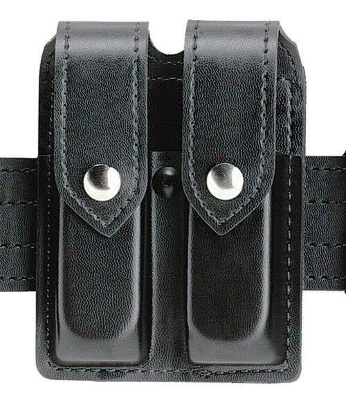 Safariland Tactical Style Double Handgun Magazine Pouch Mounts to Tactical Rig
