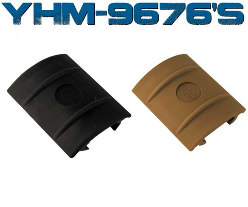 YHM 5 Slot Plastic Rail Cover - Black (YHM-9676)