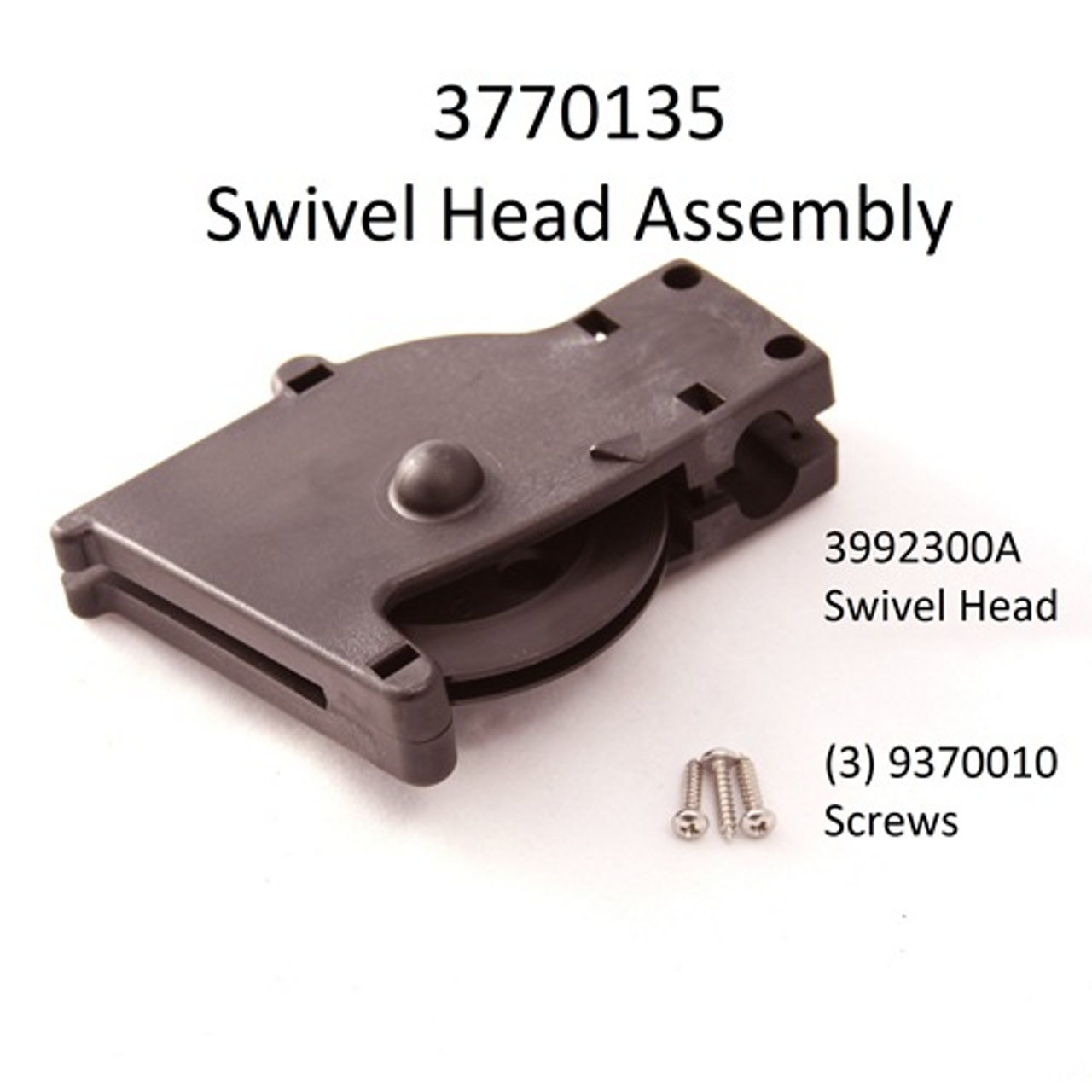 Cannon Downrigger Part Swivel Head Assembly w// Counter 3774001