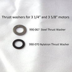 990-067 WASHER - STEEL THRUST