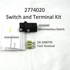 2774020 SWITCH/FORK TERMINAL KIT