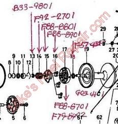 F88-8901 BRAKE COLLAR