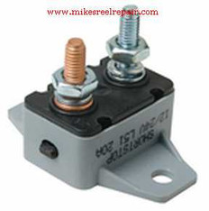 Manual Reset Breaker 40AMP 12/24VDC