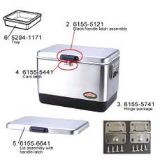 Coleman 6155-5741 Hinge Kit (2 pack), Steel Belted Cooler