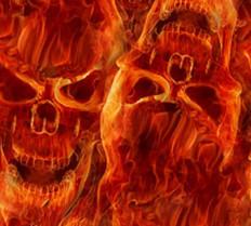 Skulls - Fire