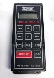 CANNON DIGI TROLL II CONTROL BOX - USED TOP VIEW