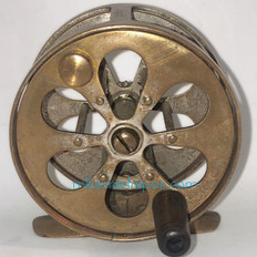 Antique 'Expert' Fly Reel - Front