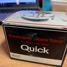 DAM Quick 4000 -- spare spools (new in box)
