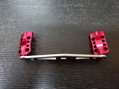 Machined Aluminum Dual Bearing RED Handle