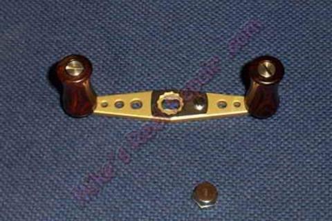 Abu Wood Handle Kit - GOLD