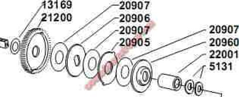20960 DRAG PLATE