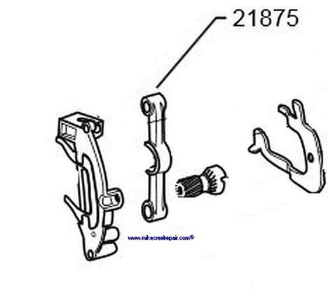 21875 PINION YOKE 5501C