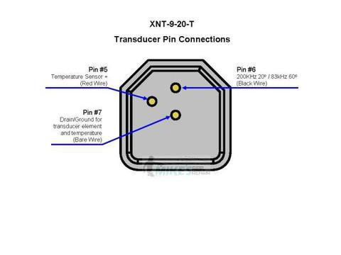 Humminbird XNT 9 20 T Transducer Kit 710198-1, XNT920TMikes Reel Repair
